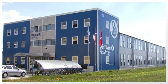Výrobní hala Pelikan Hardcopy Kyjov